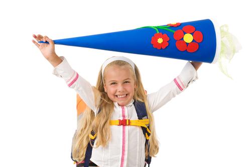 Danksagung Einschulung Schultüte