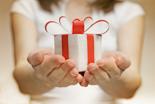 Danksagung Geschenke